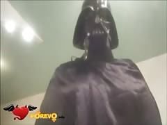 Dart Vader fucks an awesome babe through the hole in her pants Thumb