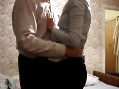 Young russian amateur blonde is getting fucked in the doggy pose Thumb