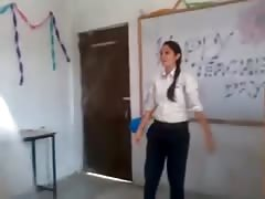 Indian girl dance in college Thumb