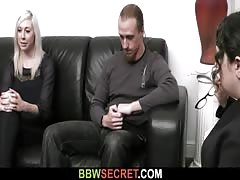 Wife finds huge bitch riding his dick Thumb