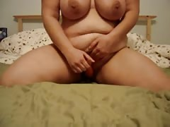 BBW Girl Riding a Carrot Thumb