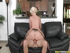 Hot milf with big ass is getting drilled from behind Thumb