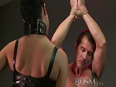 BDSM XXX Anal is the only way to teach some subs right from Thumb