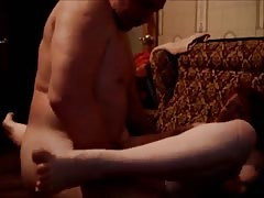 Muscled male fucks a slender girl in her little snatch Thumb