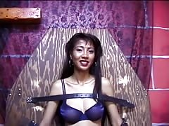 Hot looking big tit asian bound, gagged and teased by her master Thumb