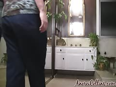 Big tits and huge ass of a BBW Anorei Collins in the sexy amateur video Thumb