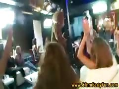 Group of girls flashing stripper Thumb