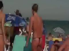 Nudist Beach Perv 3 Teen Ass and Tits Thumb