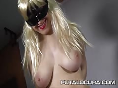 PUTA LOCURA 18 year old natural Spanish Teen Thumb