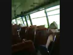 Jerking off in the public bus Thumb