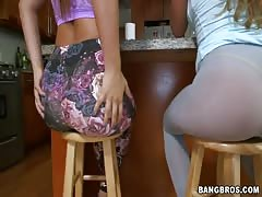 Two big-butt sluts are demonstrating their asses in the video by Ass Parade studio Thumb