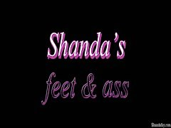 Shanda Fay gives a Canadian FootJob and gets ANAL cream pie! Thumb