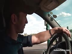 Amateur redhead hard anal fucked n fisted by the taxi driver Thumb