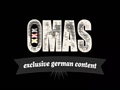 XxxOmas - Fat German slut gets fucked hard in foursome Thumb
