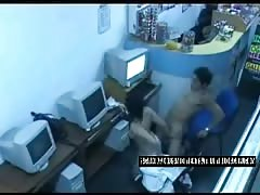 Internet Security Cam caught on the act sex video Thumb
