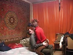 Spicy homemade sex with a leggy Russian girlfriend Thumb
