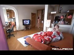 Sweet amateur sex in the bedroom starring a hot Russian amateur Thumb