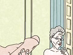 Granny Loves Anal Sex! Big Animation! Thumb