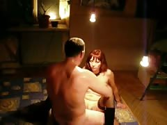 Slender redhead girlfriend is getting nailed in the missionary pose Thumb