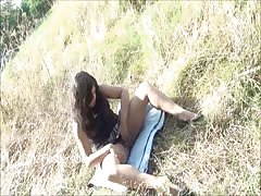 Indian amateur Kikis public nudity and outdoor masturbation of chubby Thumb