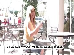 Candace stunning busty blonde teen public flashing Thumb