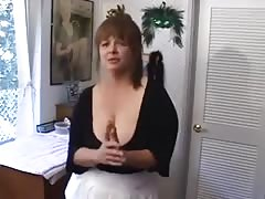 Chubby wife gets bbc. Hubby cleans up after Thumb