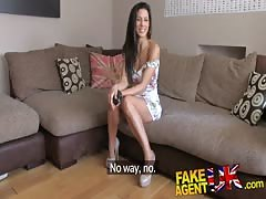 FakeAgentUK Office sex for sporty spanish babe Thumb