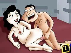 Cartoon porn insanity with Flintstones, American Dad etc Thumb