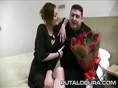 PUTA LOCURA Real Spanish amateur cuckold Thumb