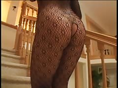 Big tit babe in bodystocking loves hard anal Thumb
