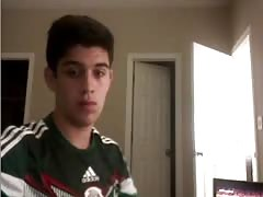 Mexican Cute Soccer-Football Player,Very Big Smooth Ass Thumb