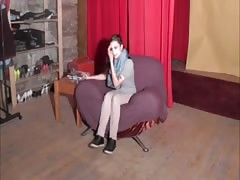 Crazy teen does blowjob at the CASTING Thumb