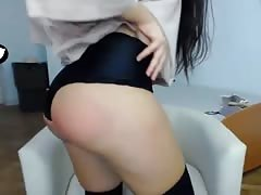 Polish girl with sexy red ass Thumb