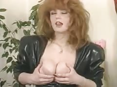 Sensual Masturbation in Latex Thumb