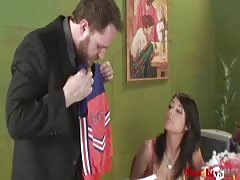 Big-cocked interviewer fucks with a busty Naughty Staff brunette Thumb