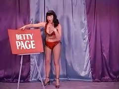 A Burlesque Dance With Betty Page Thumb