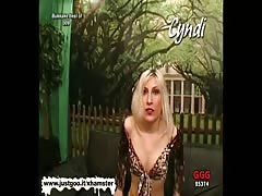 Blondie babe Cyndi is the ultimate bukkake whore Thumb