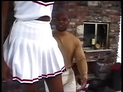 Young ebony cheerleader Thumb