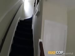 Fake Cop Lonely housewife fucked in the arse Thumb