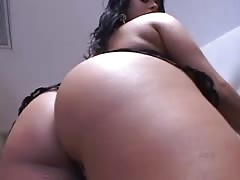 Sweet Ass Latina Fucks, Eats Ass and Cum Thumb