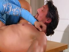 Big-breasted milf Lisa Ann is giving an outstanding blowjob Thumb