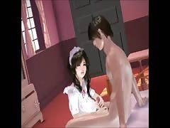 Maid is pleasing her Master (3D Animated) Thumb