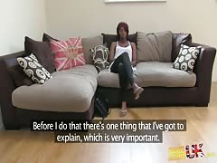 Hottest redhead ebony came here to prove that she is a slut Thumb