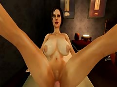 SFM legs up test sex animation Thumb