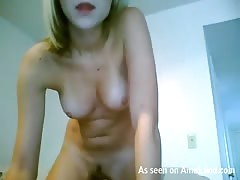 Solo scene with first-class beauty with huge natural boobies Thumb