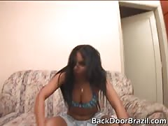 Back Door Brazil penetrator is impaling a horny as fuck milf Thumb