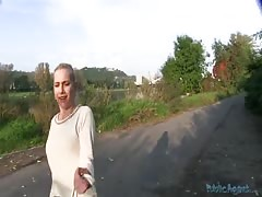 Awesome blonde is getting picked up and fucked in pov scene Thumb