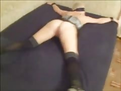 Gorgeous vaginal sex in the bedroom in the missionary pose Thumb
