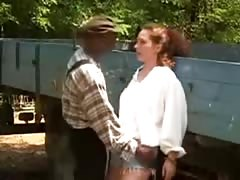 MRY - white slut fucked by black farm help Thumb