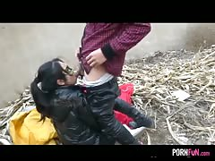Chinese Creampie On A Garbage Dump Thumb